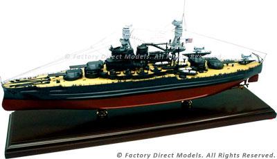 USS Arizona (BB-39) Model Ship