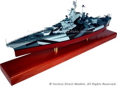 USS California (BB-44) Model Ship