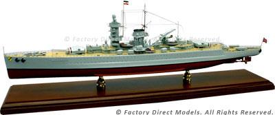 DKM Admiral Scheer Model Ship