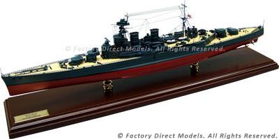 HMS Hood (51) Model Ship