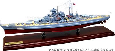 KMS Bismarck 2 Model Ship