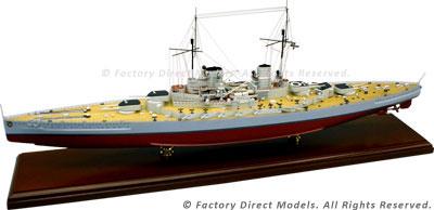 SMS Derflinger Model Ship