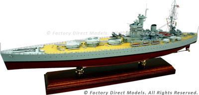 HMS Rodney (29) Model Ship