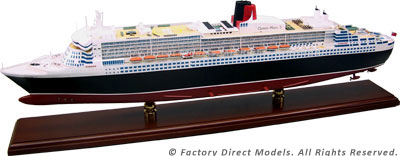 RMS Queen Mary 2 (QM2) Model Ship