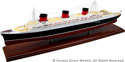SS Normandie Model Ship