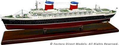SS United States Model Ship