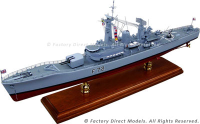 HMS Ariadne (F72) Model Ship