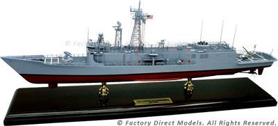 USS Oliver Hazard Perry (FFG-7) Model Ship