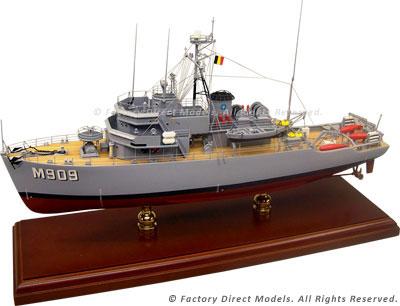 M909 Bovesse Model Ship