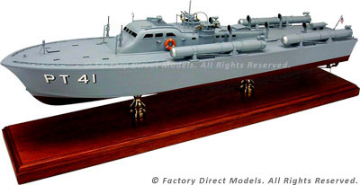 Motor Torpedo Boat PT-41 Model Ship