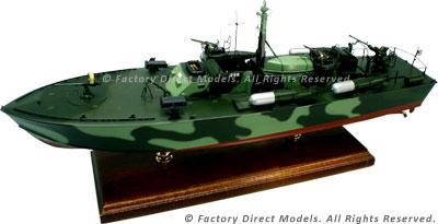 Motor Torpedo Boat PT-366 Model Ship