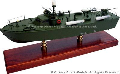 Motor Torpedo Boat PT-631 Higgins Model Ship