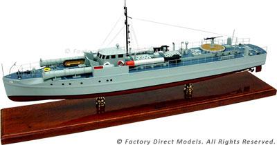 Motor Torpedo Boat S-10 Model Ship