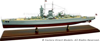 D.K.M. Admiral Scheer  Model Ship