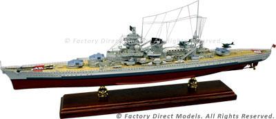 German Warship Scharnhorst (1936) Model Ship