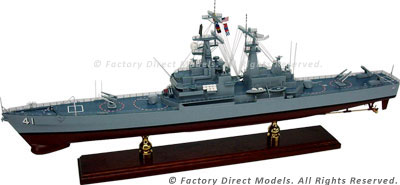 USS Arkansas (CGN 41) Model Ship