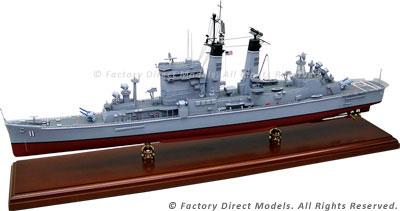 USS Chicago (CA-136) Model Ship