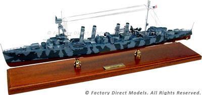 USS Cincinnati (CL-6) Model Ship