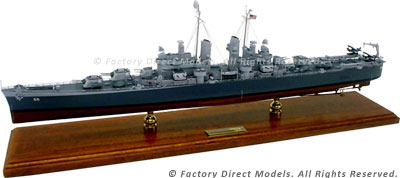 USS Cleveland (CL-55) Model Ship