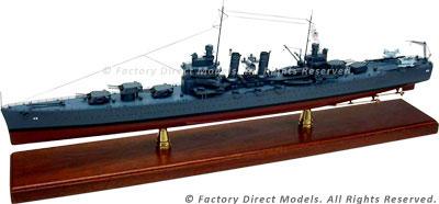 USS Honolulu (CL-48) Model Ship