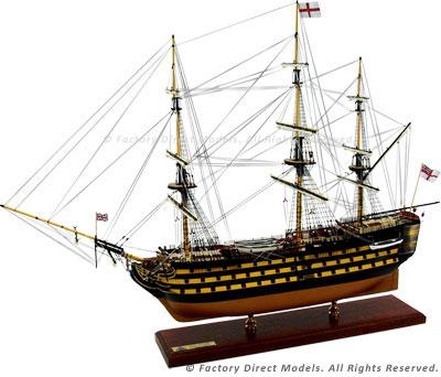 HMS-Victory - Trafalgar Tall Ship Scale Model