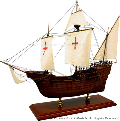 Santa Maria Tall Ship Model