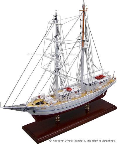 Tall Ship Model of the Segelschulschiff Greif