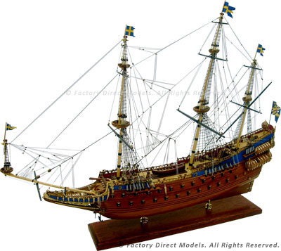 Vasa Tall Model Ship