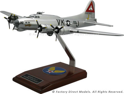 Boeing B-17 Flying Fortress Military Aircraft Model