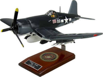 Chance Vought F4U Corsair Model with Detailed Interior
