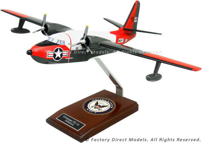 Grumman HU-16 Albatross Navy Scale Model