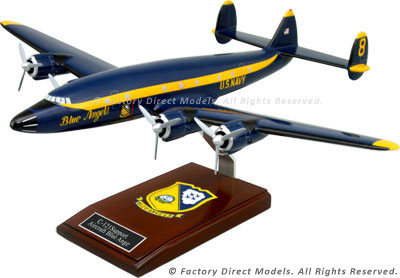 Lockheed C-121 Support Aircraft Blue Angel Model