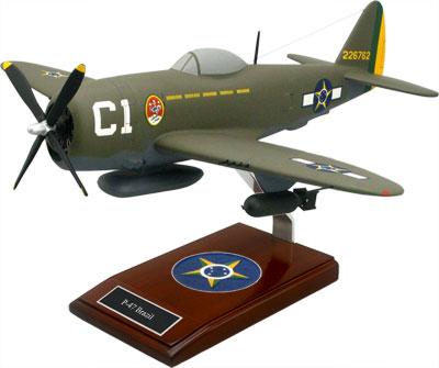 North American P-47 Brazil Scale Model