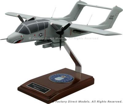 North American OV-10A Bronco Military Model