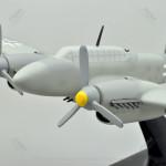 Messerschmitt Bf 110 G-2 Fighter-Bomber Scale Model Airplane