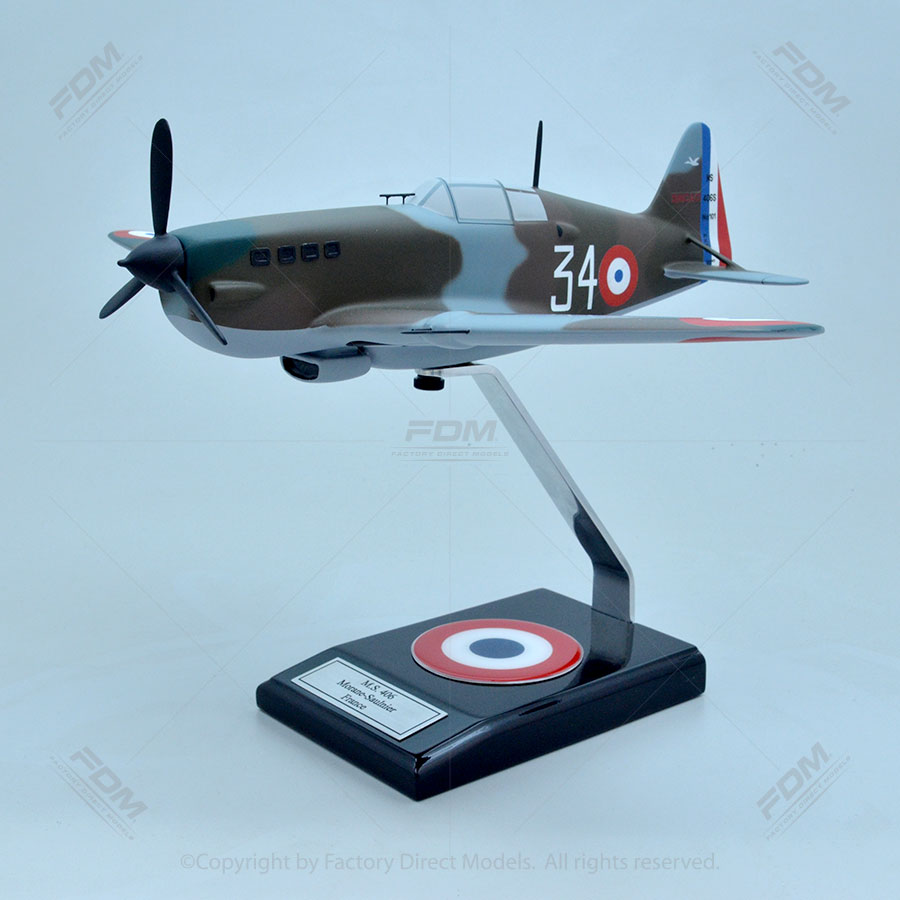 Morane-Saulnier M.S.406 Scale Model