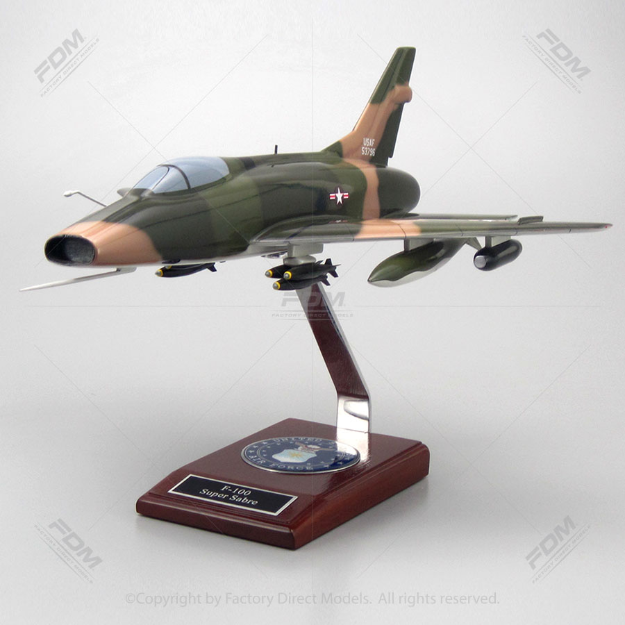 North American F-100 Super Sabre Model