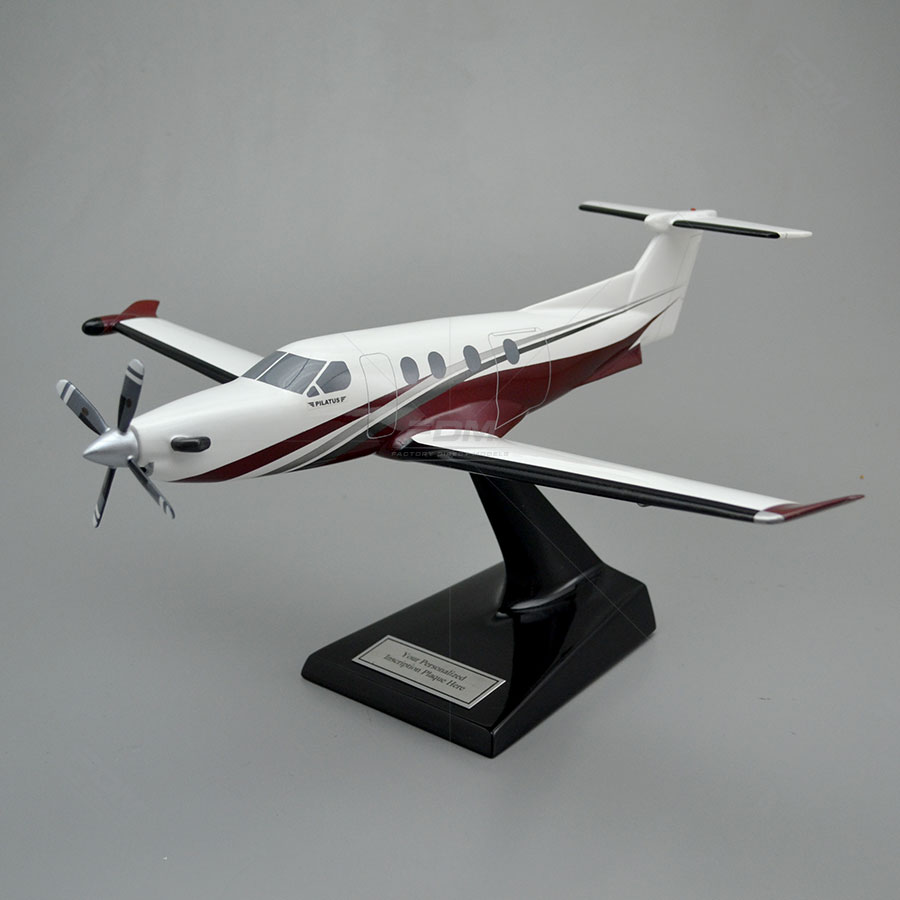 Pilatus PC-12/47E NG Scale Model Airplane