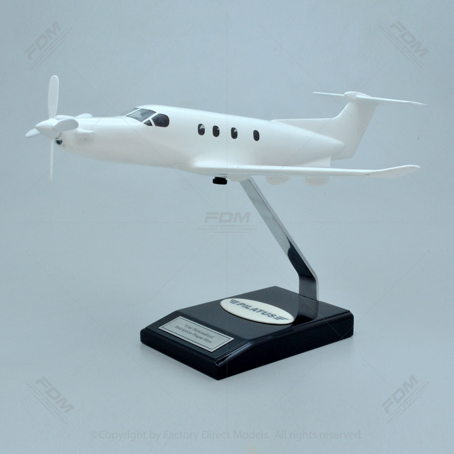 Your Custom Painted Pilatus PC-12/47E Model with Detailed Interior