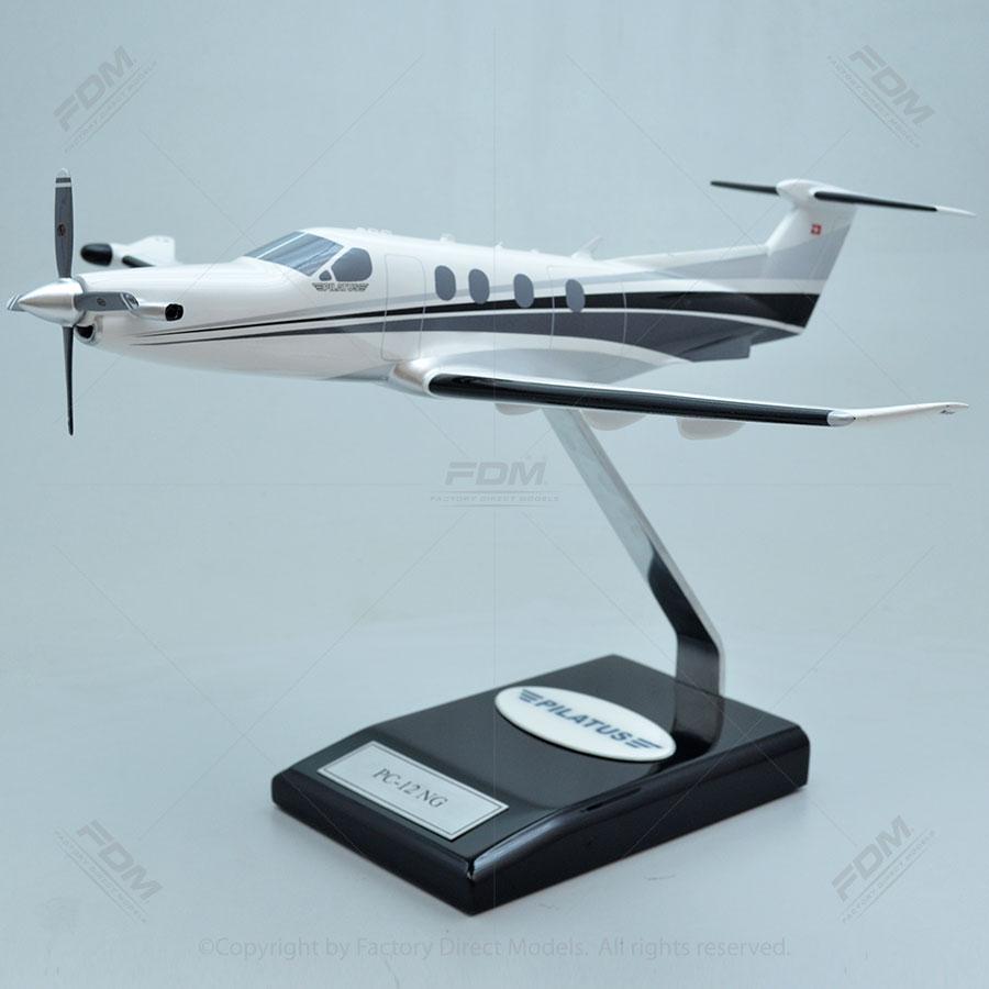 Pilatus PC-12NG Resin Scale Model