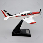 Piper PA 260C Comanche Scale Model Airplane with Detailed Interior