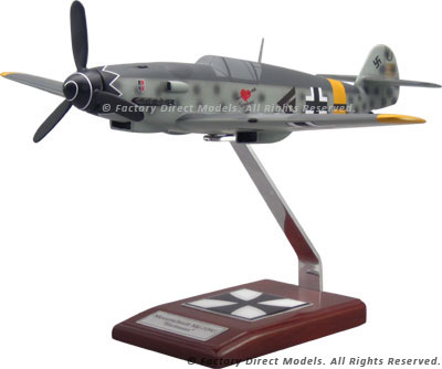 Messerschmitt Me-109G Hartmann Scale Model