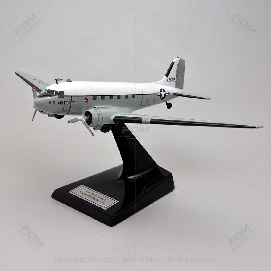 Douglas C-47 Skytrain USAF Scale Model