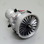 Roll Royce Trent 1000 Engine Model