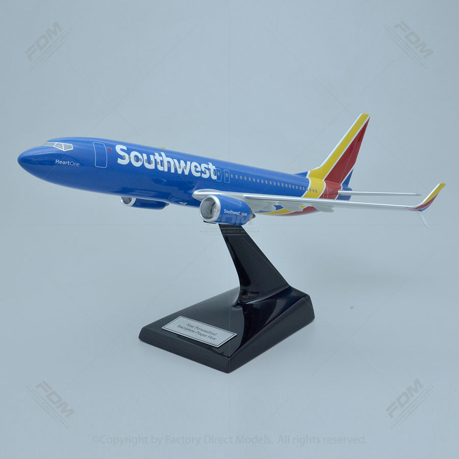 Boeing 737-800 Southwest Airlines Heart One Model