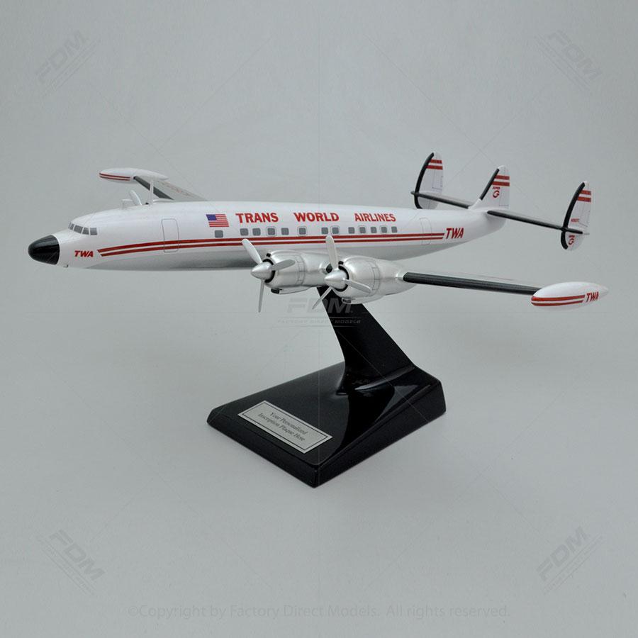 Lockheed L-1049G Super G TWA Model