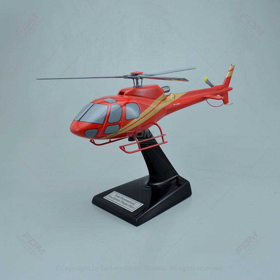 Airbus H125 Helicopter Model