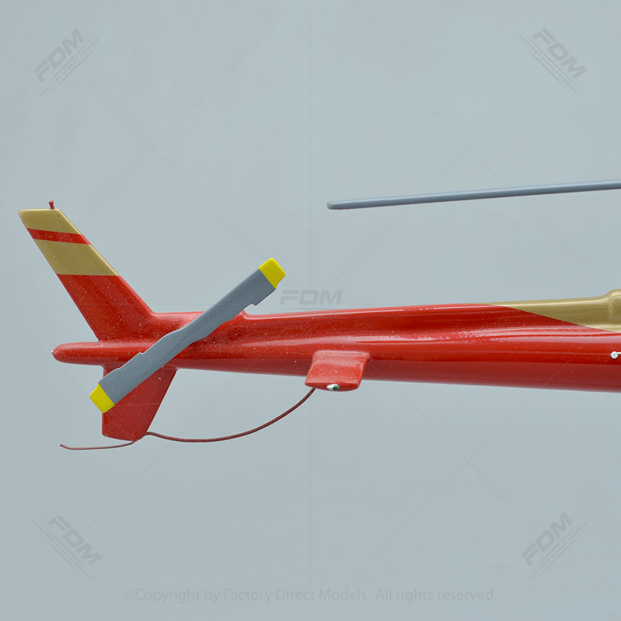 Elicottero H 125 : Airbus h scale model helicopter