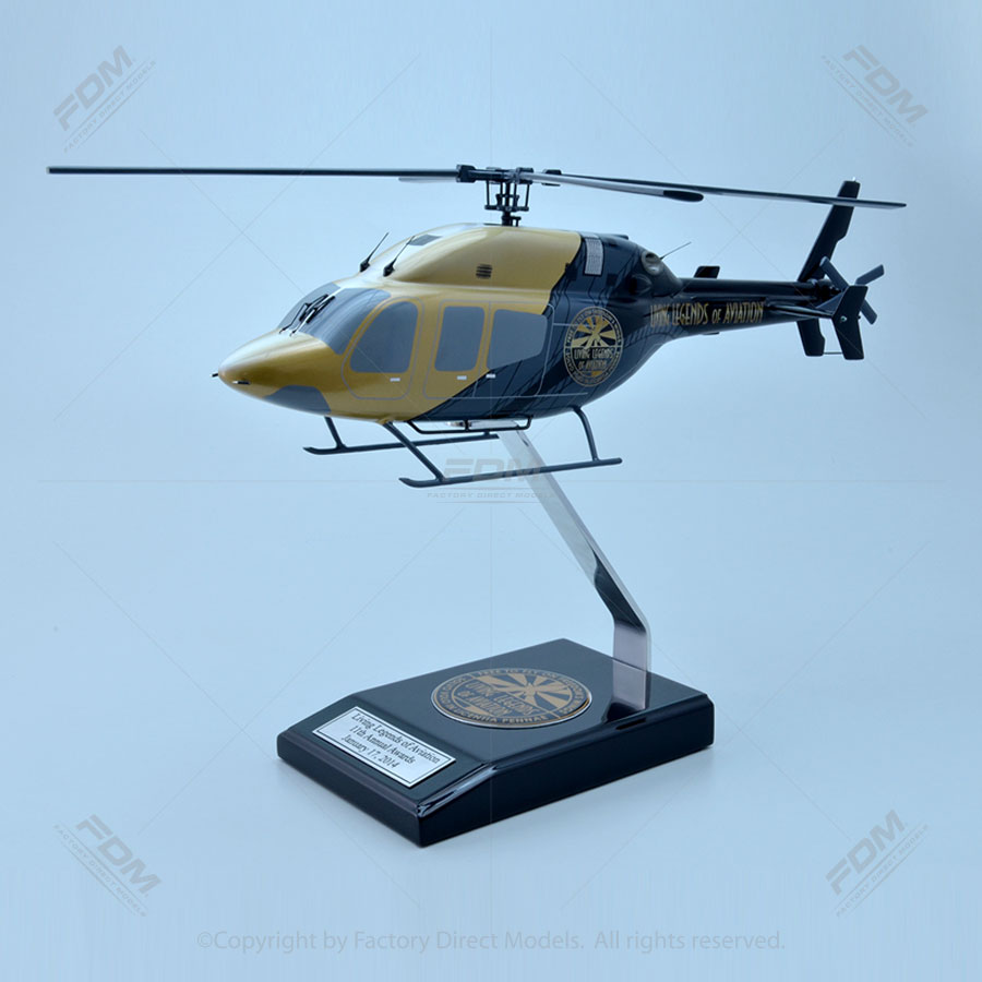 Bell 429 with Living Legends of Aviation Paint Scheme Model