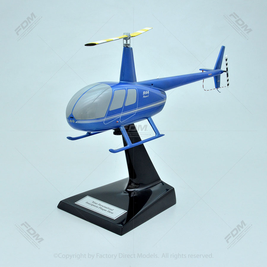 Robinson R44 Scale Model Helicopter